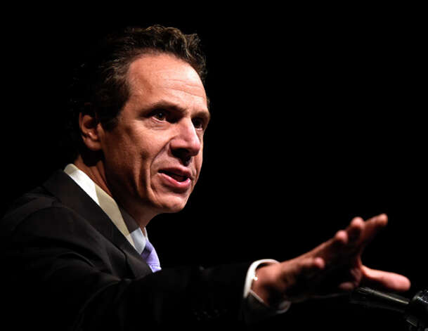 Governor Andrew Cuomo speaks at the MWBE Forum Wednesday morning Oct. 1, 2014 in Albany, N.Y.      (Skip Dickstein/Times Union) Photo: SKIP DICKSTEIN, ALBANY TIMES UNION / 00028850A