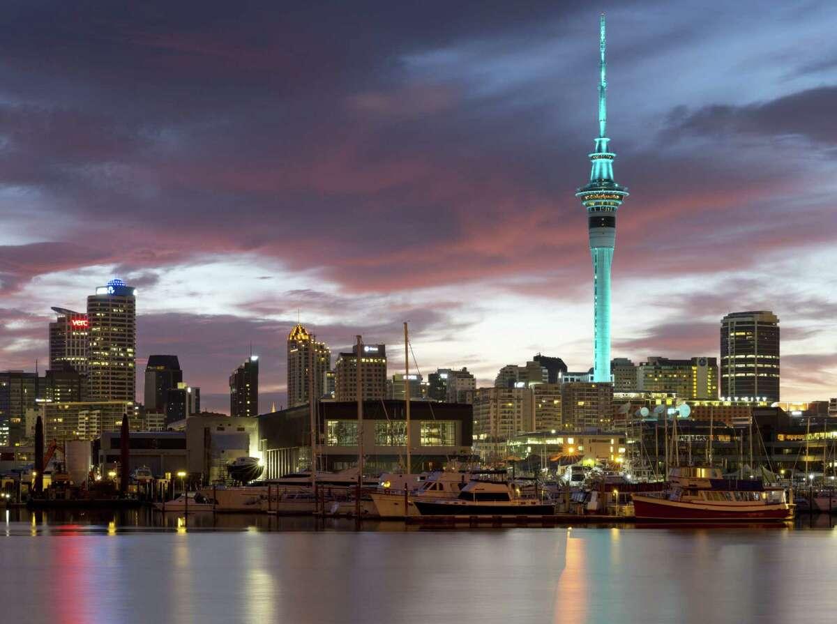 Auckland, New Zealand, was third.