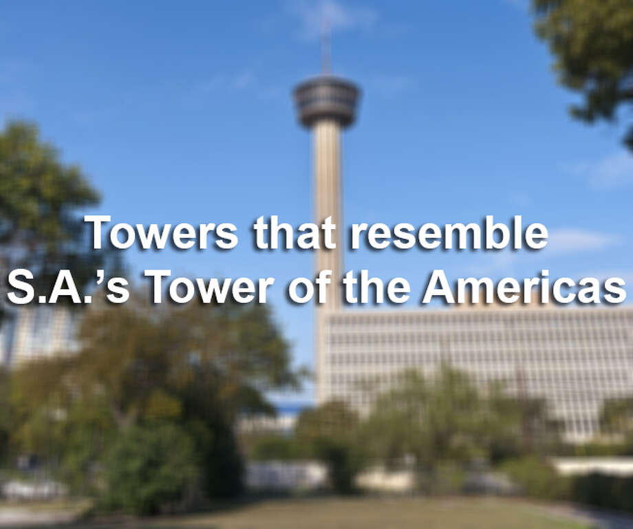 San Antonio's Tower of the Americas is the most easily identifiable building on the Alamo City's skyline. Here are 15 other towers around the world of varying heights that at least slightly resemble the San Antonio icon, with some that are closer than others (like Calgary). Oh, and we counted antennae.Sources: Wikipedia, various towers' websites Photo: Getty Images / (c) Gary D'Ercole