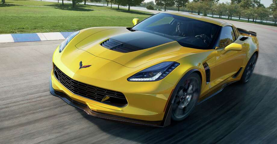 This undated image provided by General Motors shows the 2015 Chevrolet Corvette Z06. General Motors says the new high-performance Corvette can hit 60 mph in 2.95 seconds, finish a quarter-mile in just under 11 seconds, and reach 127 mph in one-quarter mile, making it the fastest car GM has ever made. Photo: Uncredited, AP / General Motors