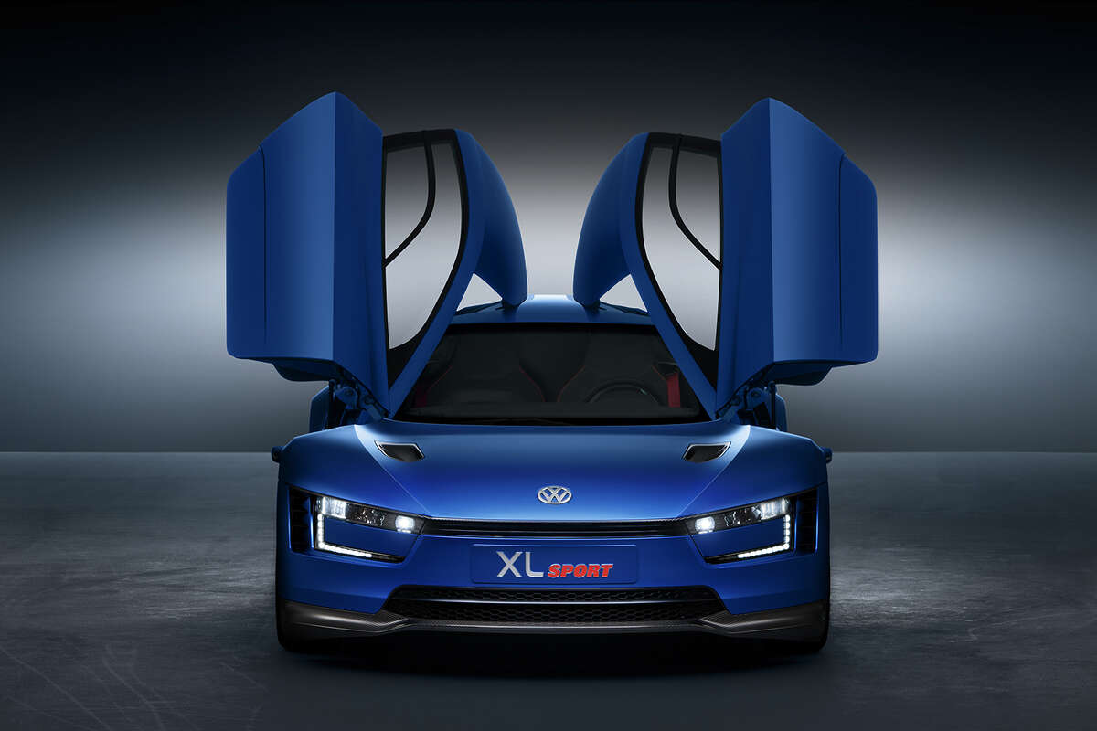 The XL Sport concept is being shown for the first time by Volkswagen at the Paris Motor Show.