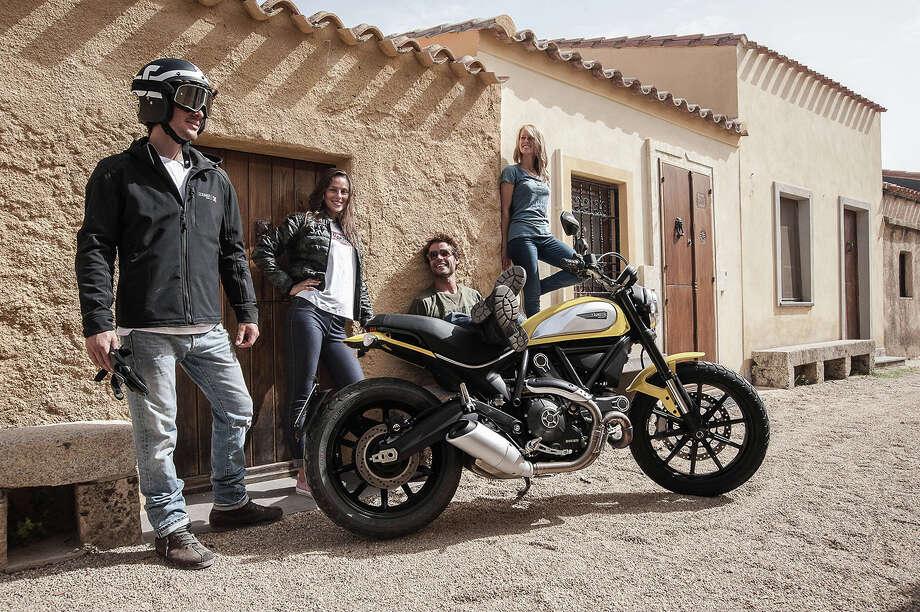 The 2015 Ducati Scrambler. Photo: ALE-GG, Ducati / GIAGONSS