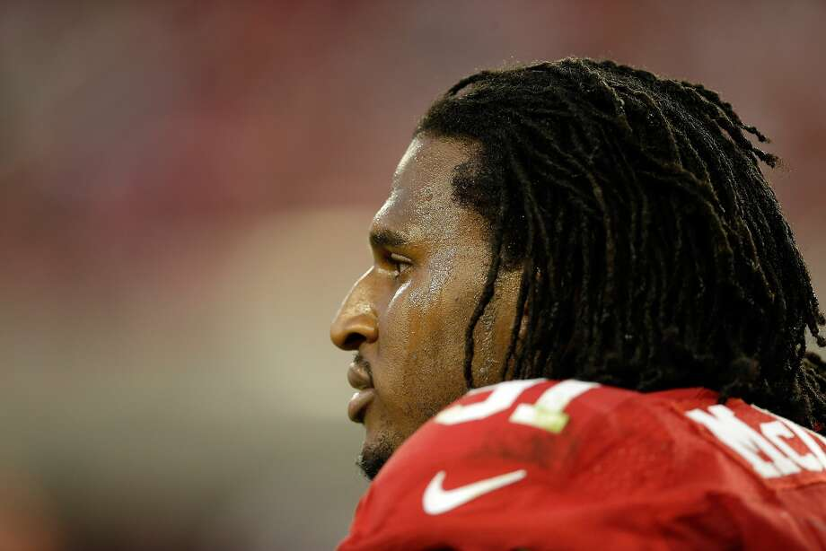 SANTA CLARA, CA - SEPTEMBER 14:  Defensive end Ray McDonald #91 of the San Francisco 49ers looks on during the second quarter of their game against the Chicago Bears at Levi's Stadium on September 14, 2014 in Santa Clara, California.  (Photo by Ezra Shaw/Getty Images) Photo: Ezra Shaw, Getty Images