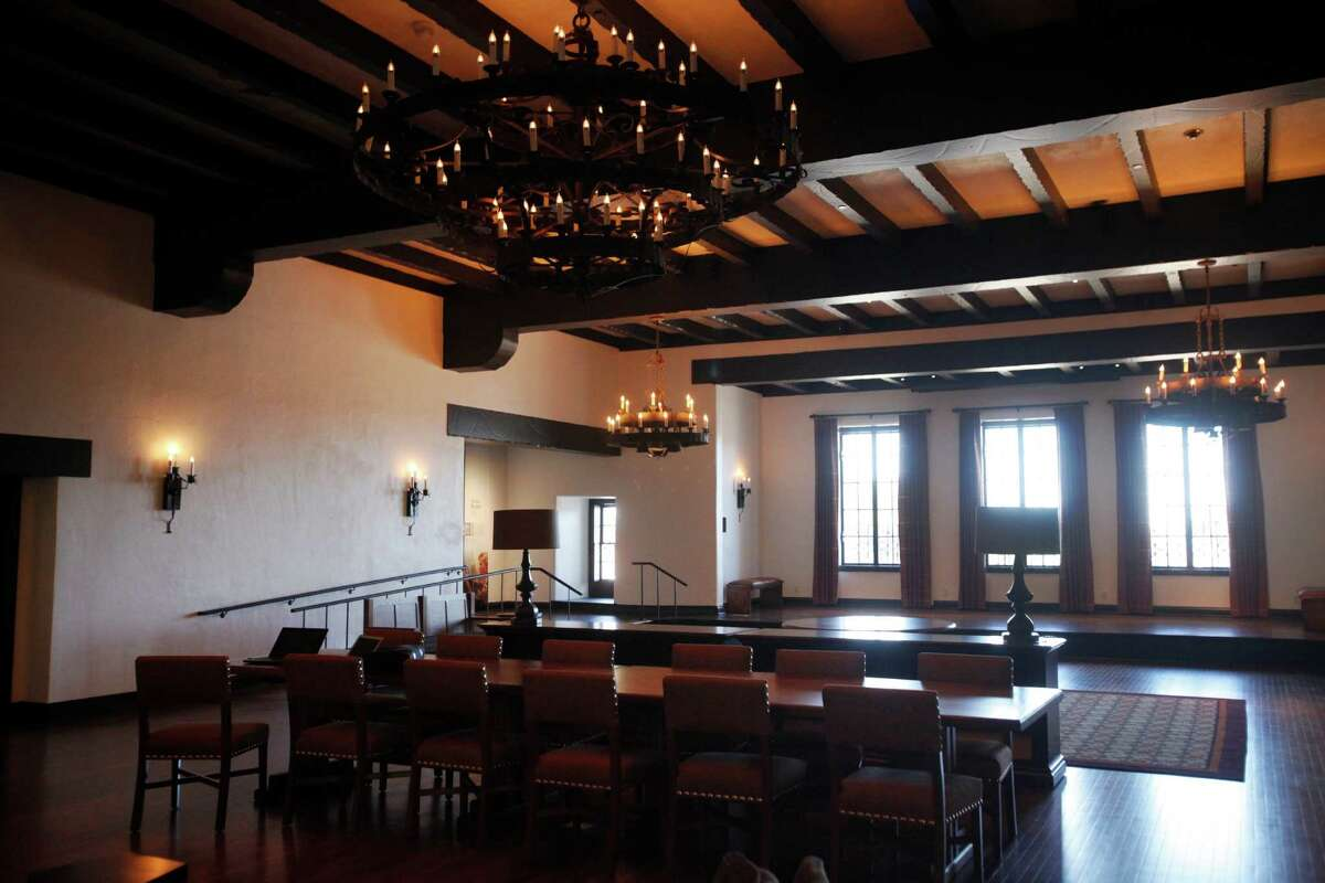 The Presidio Officer's Club, which underwent a historic renovation a few years ago, is just one of many spots in the Presidio that supposedly houses ghosts. A lady in a black dress has reportedly been seen in the officer's club and a Muni driver once reported picking up a gentleman in military dress at the Presidio - only to look in his rearview mirror and see the man had vanished. Many ghost investigators believe that renovations kick up spirit activity so the ghouls of the Presidio Officer's Club may be enjoying a revival.