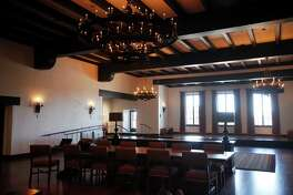 Moraga Hall in the newly redone Presidio Officers' Club Oct. 2, 2014 in San Francisco, Calif.