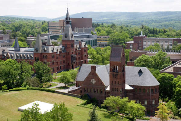 13. Cornell University in Ithaca, New York.