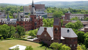 13. Cornell University in Ithaca, New York.