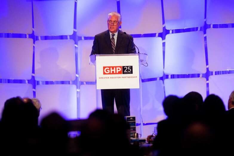 Exxon Mobil leader sees Houston as hub of energy revolution