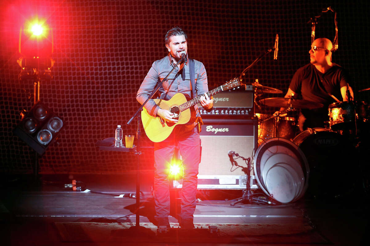 Juanes performs Thursday Oct. 2, 2014 at the Tobin Center for the Performing Arts.