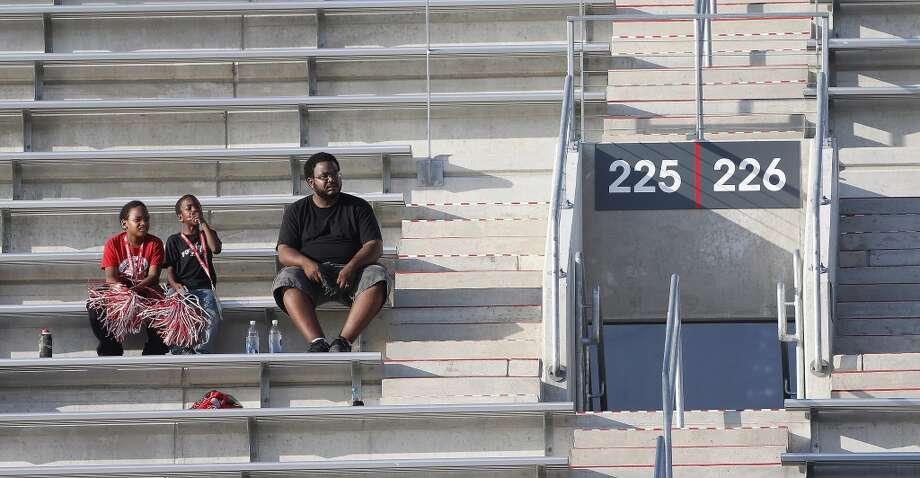 Empty seats in the University of Houston's new stadium have been common. Photo: Karen Warren, Houston Chronicle