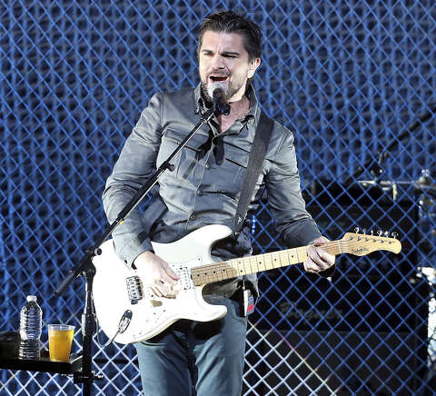 Juanes' drive-by concert - San Antonio Express-News