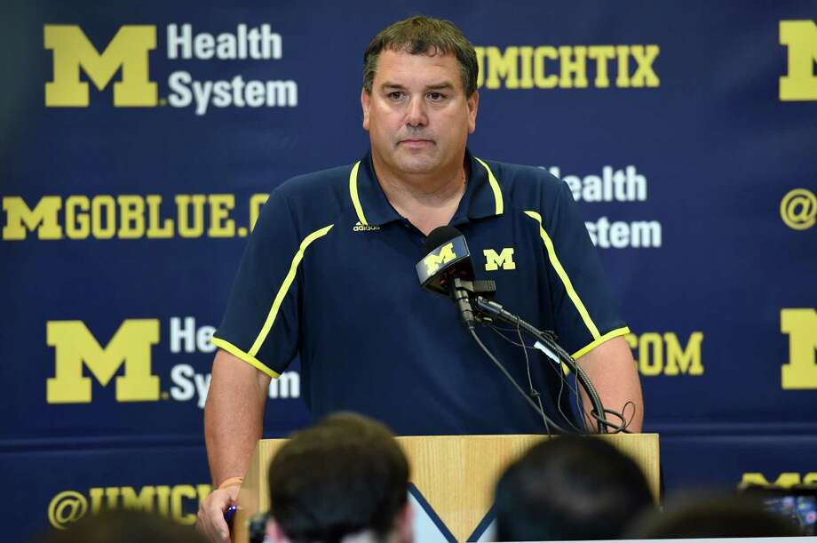 Brady Hoke's days at Michigan appear to be numbered. Photo: Melanie Maxwell, MBI / The Ann Arbor News