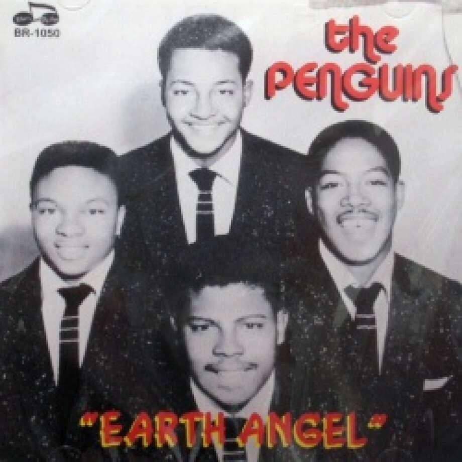 """The Penguins, """"Earth Angel,"""" 1954, peaked in the top 10. Click here to listen. Photo: Dootone"""