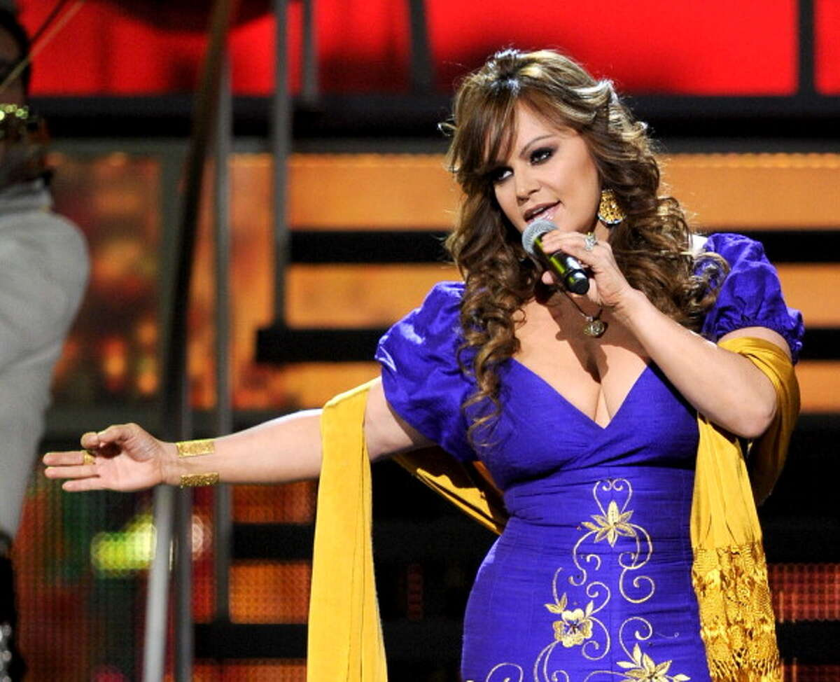 LAS VEGAS - NOVEMBER 11: Singer Jenni Rivera performs onstage during the 11th annual Latin GRAMMY Awards at the Mandalay Bay Events Center on November 11, 2010 in Las Vegas, Nevada.