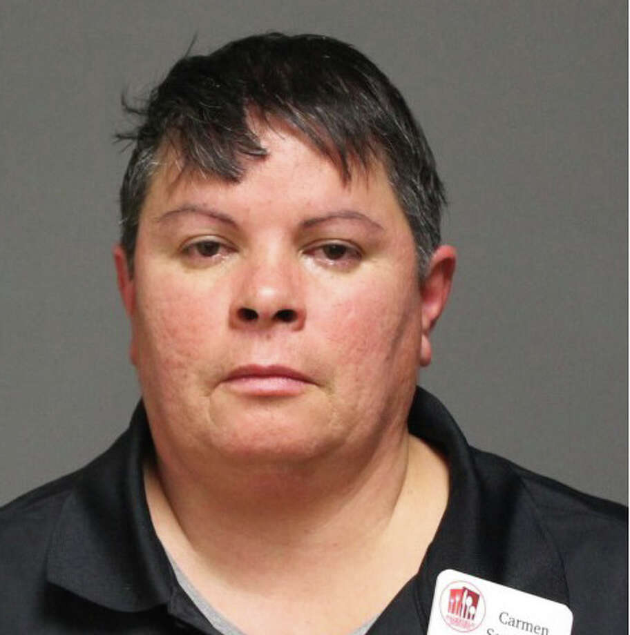 Carmen Sotomayor, 48, of Bridgeport, was arrested and charged with fifth-degree larceny. Photo: Contributed Photo /  Fairfield Citizen contributed