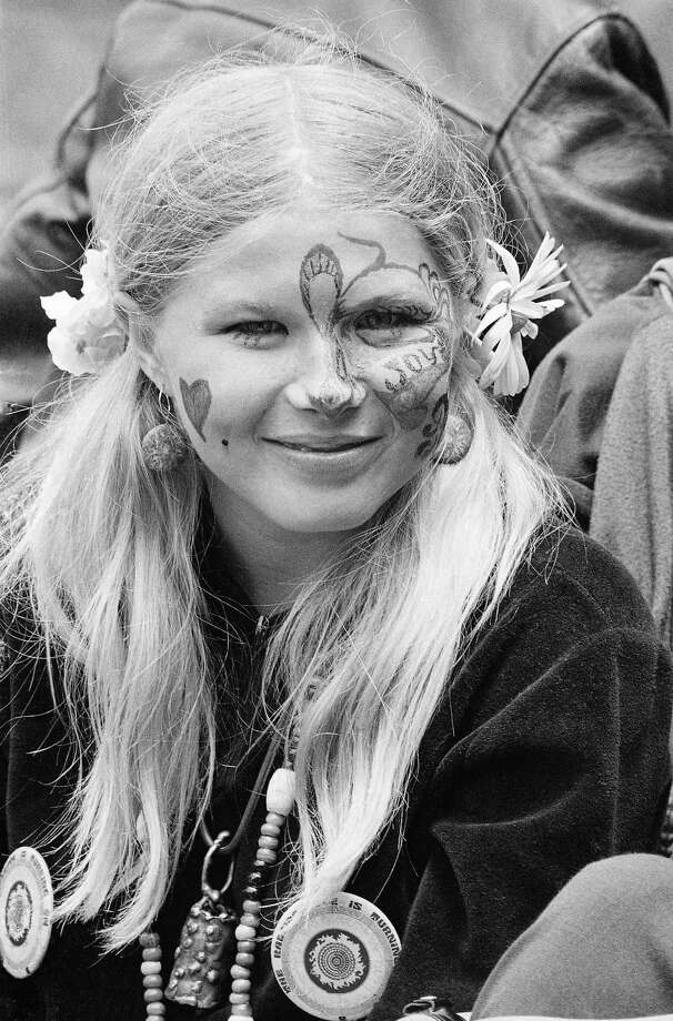 "From the ""Summer of Love"" in 1967 in Golden Gate Park, San Francisco. Photo: Robert W. Klein, STF / AP"