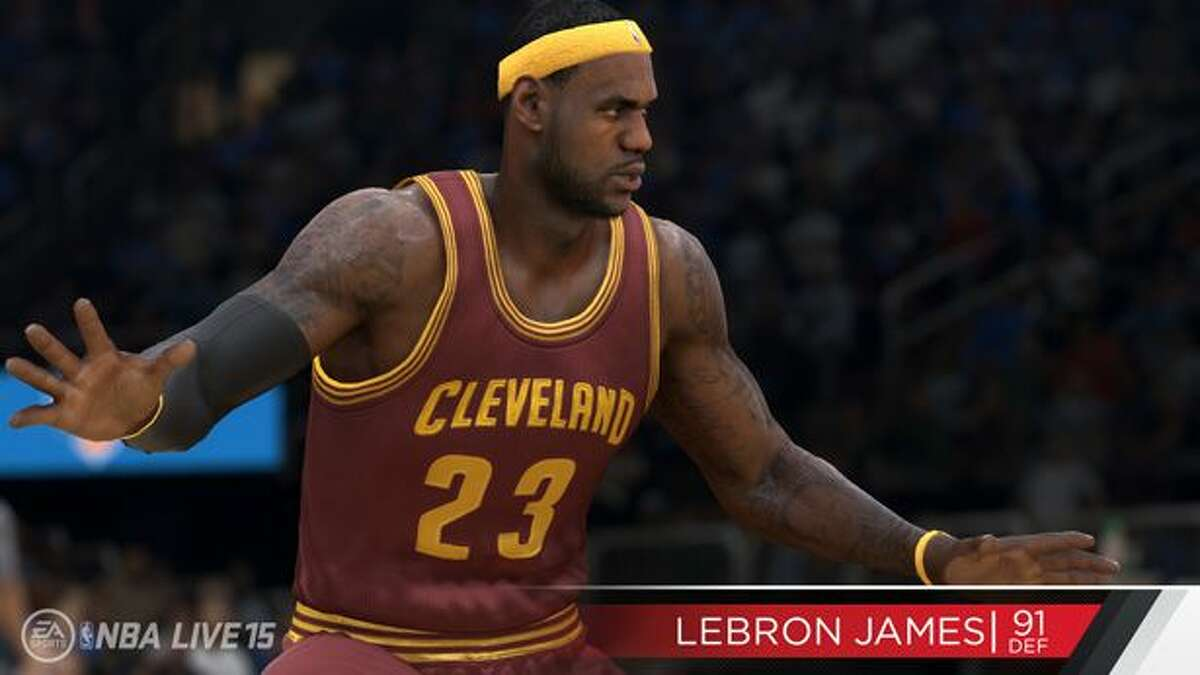 No. 5: Lebron James Cleveland Cavaliers Game defense rating: 91
