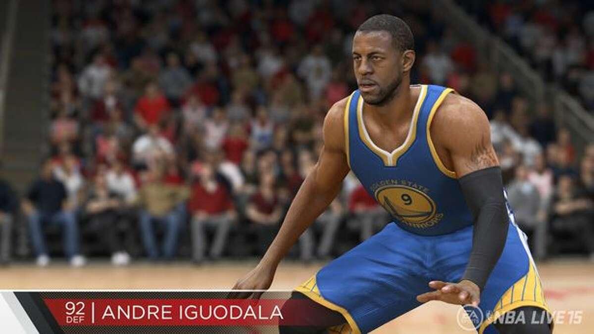 No. 4: Andre Iguodala Golden State Warriors Game defense rating: 92