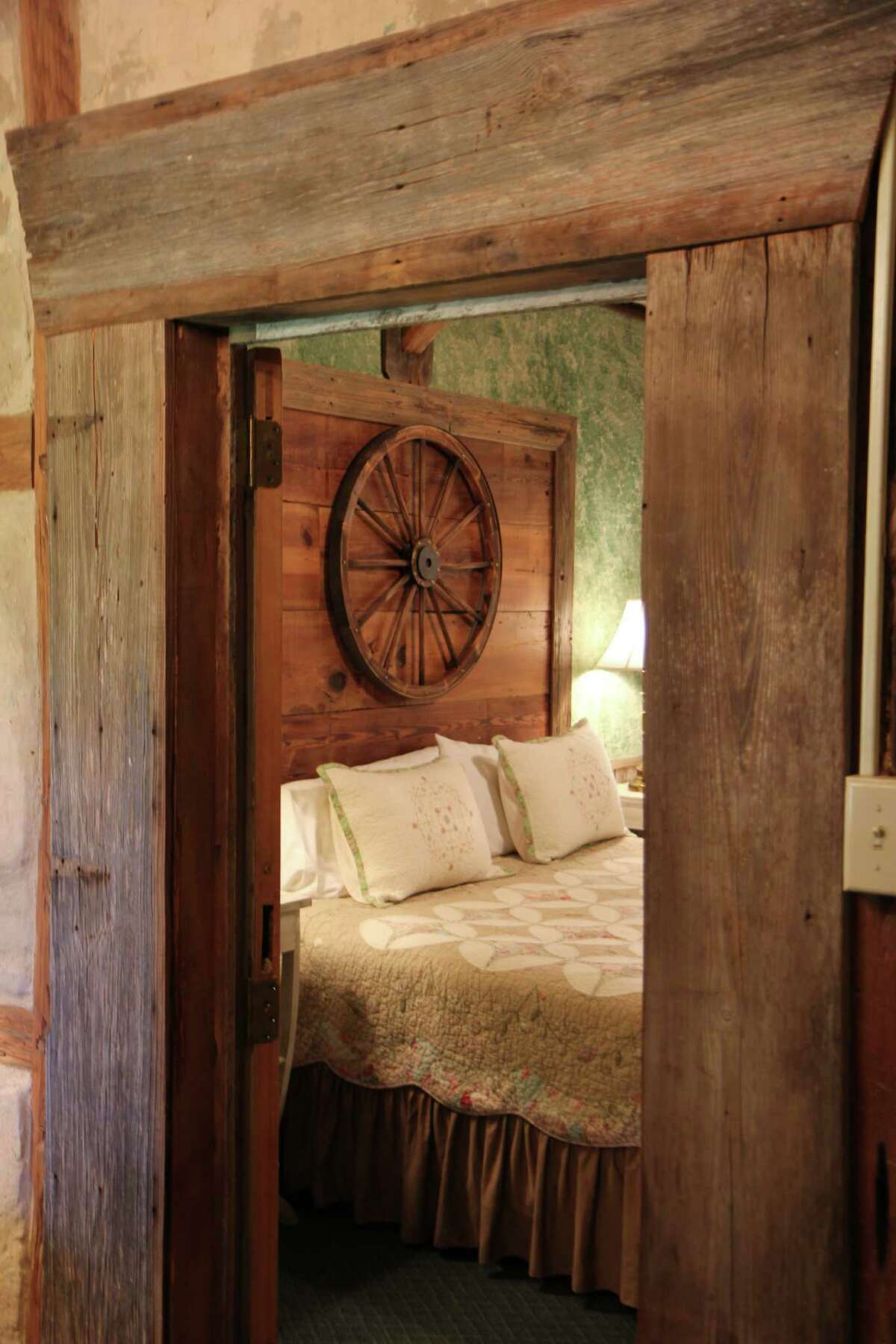 Inn owners restored the Farm House, which was originally built by a German settler in the 1850s.