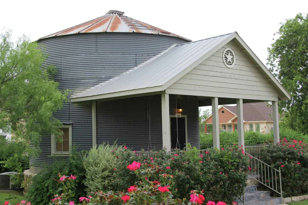 The Silo is among the unique lodging options at the Gruene Homestead Inn near New Braunfels.