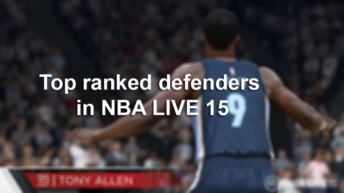 Top ranked defenders in NBA LIVE 15