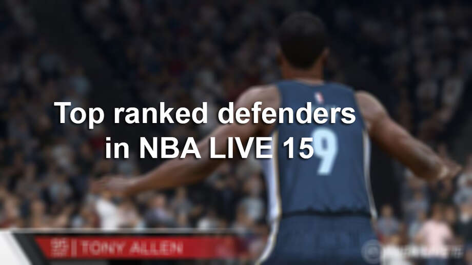 Top ranked defenders in NBA LIVE 15 Photo: Courtesy Electronic Arts