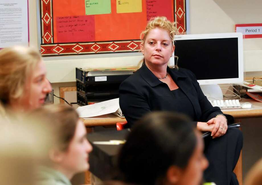 Western Middle School Principal Stacey Gross was named 2010 Connecticut Middle School Principal of the Year. Photo: File Photo / Greenwich Time File Photo
