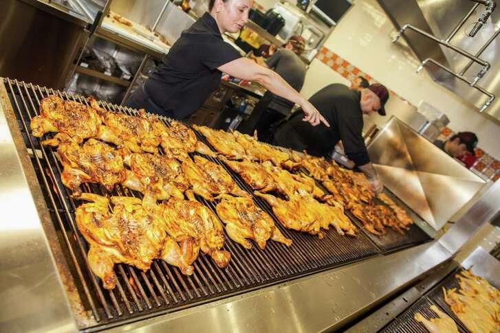 Customers can watch grill masters at work at El Pollo Loco. The California-based chain has 406 restaurants across Arizona, California, Nevada, Texas and Utah.