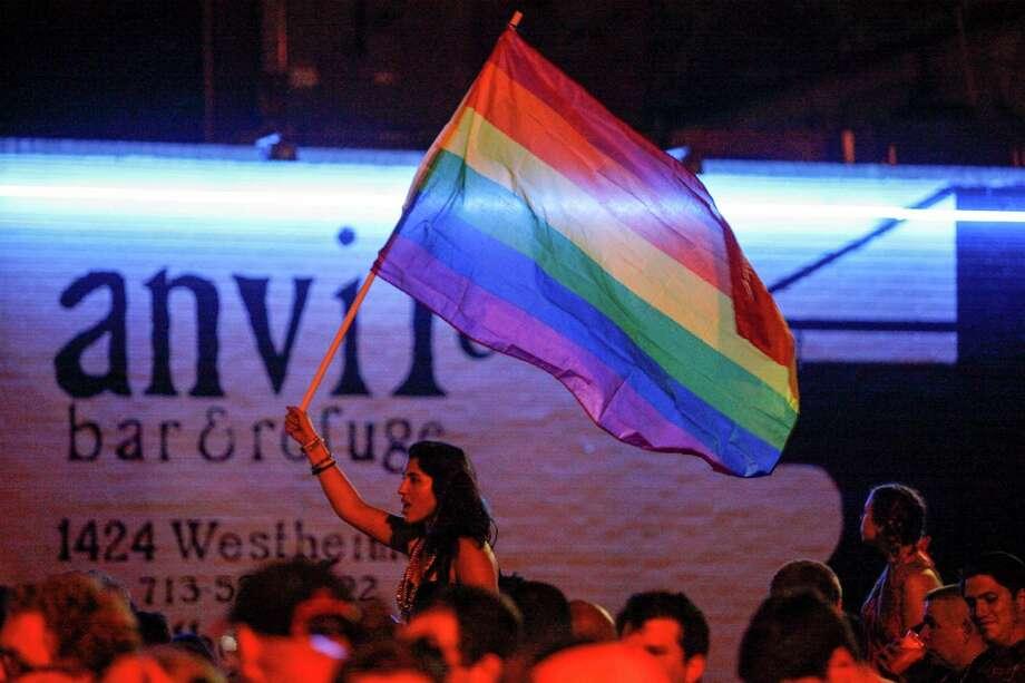 The Houston Gay Pride Parade on June 28, 2014 in Houston. Photo: Eric Kayne / Eric Kayne