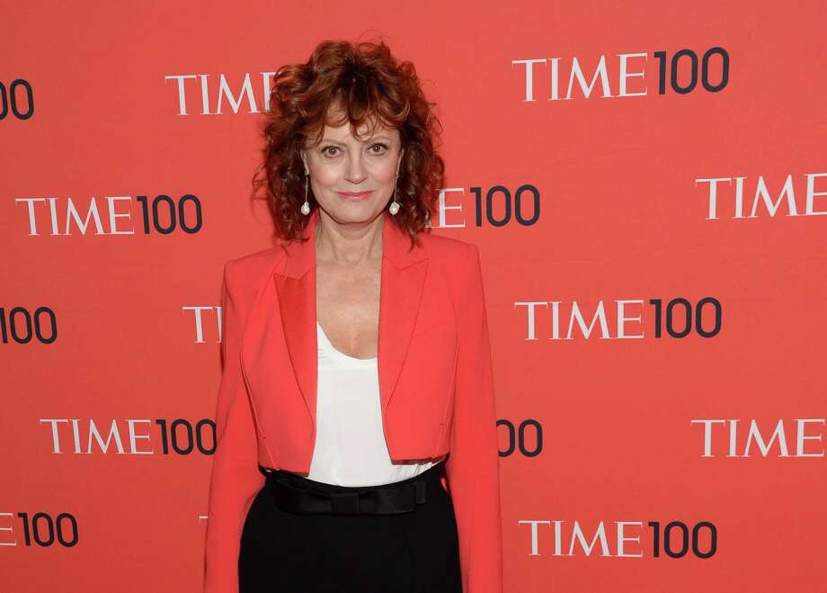 Susan Sarandon arrives at 2014 TIME 100 Gala at Frederick P. Rose Hall, Home of Jazz at Lincoln Center on Tuesday, April 29, 2014, in New York. (Photo by Evan Agostini/Invision/AP) ORG XMIT: CAET411 Photo: Evan Agostini / Invision