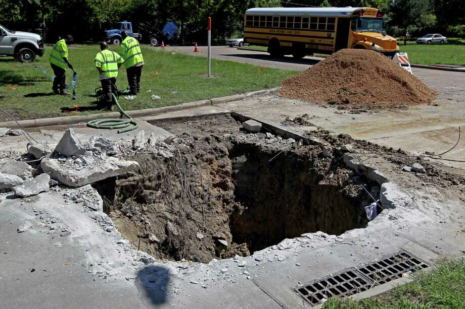PHOTOS: The most bizarre phobias to have In Texas, the only holes that we aren't afraid of are donut holes and swimming holes. Sinkholes and potholes are another story. According to a new study of every state's pet phobia, the top phobia in the state of Texas is trypophobia, the fear of holes. See what other strange phobias are out there... Photo: Gary Coronado, Houston Chronicle / © 2014 Houston Chronicle