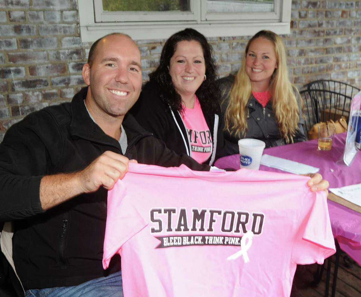 Cancer benefit for Danielle LaRocque at the Seaside Tavern in Stamford, Conn., Saturday afternoon, Oct. 4, 2014. LaRocque, a Stamford resident, has breast cancer. LaRocque, a former employee of the Seaside Tavern, said she is unable to work due to her treatment. The tavern's sales and tips from the all day benefit