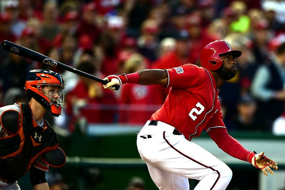 What Moves did the Giants make to return to the playoffs in an even year? The void in left field (actually center field) has been filled by Denard Span. Photo: Patrick Smith, Getty Images