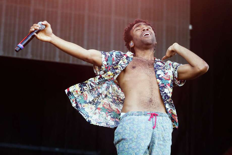 Childish Gambino, aka Donald Glover, performs on the first day of the Austin City Limits Music Festival on Friday, Oct. 3, 2014, in Austin, Texas. Photo: Jack Plunkett, Associated Press / Invision