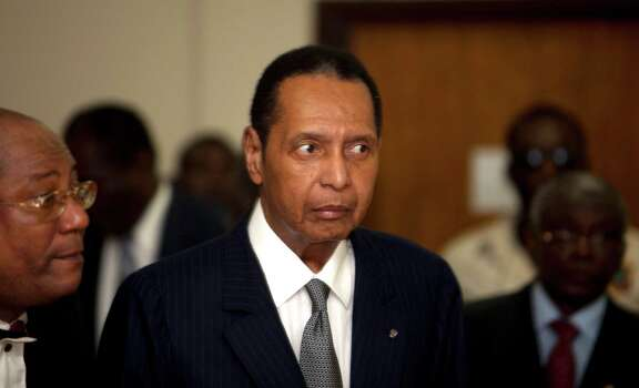 "Jean-Claude Duvalier, 1951-2014: Known as ""Baby Doc,"" the self-proclaimed ""president for life"" of Haiti whose corrupt and brutal regime sparked a popular uprising that sent him into a 25-year exile, died Oct. 4 of a heart attack. He was 63. Photo: Dieu Nalio Chery / AP"