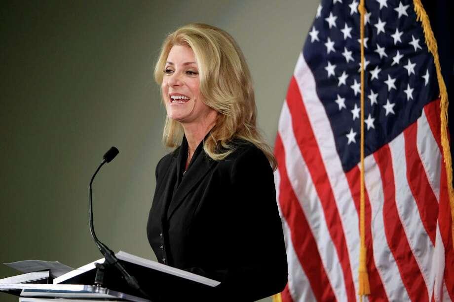See the highlights of Wendy Davis' final debate against her Republican opponent Greg Abbott. Photo: Gary Coronado, Staff / © 2014 Houston Chronicle