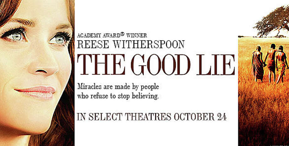 "Reese Witherspoon stars in ""The Good Lie,"" the story of an employment agency counselor assigned to find jobs for three of the Lost Boys of Sudan when they arrive in the United States. Photo: Contributed Photo / Westport News"