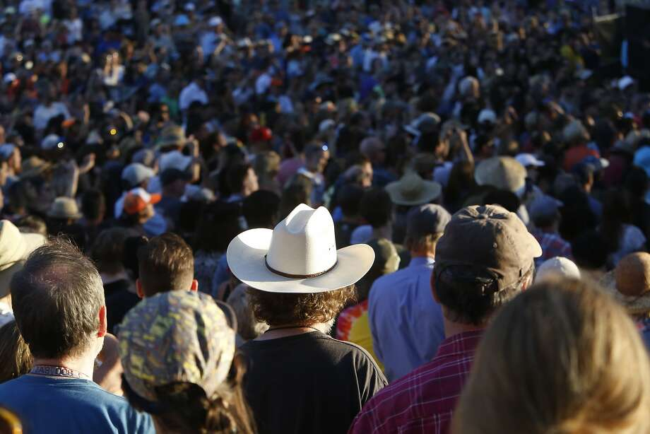 Chris Isaak drew a huge crowd on the second day of the Hardly Strictly Bluegrass Festival on Saturday, October 4, 2014, in San Francisco's Golden Gate Park. Photo: Terray Sylvester, The Chronicle