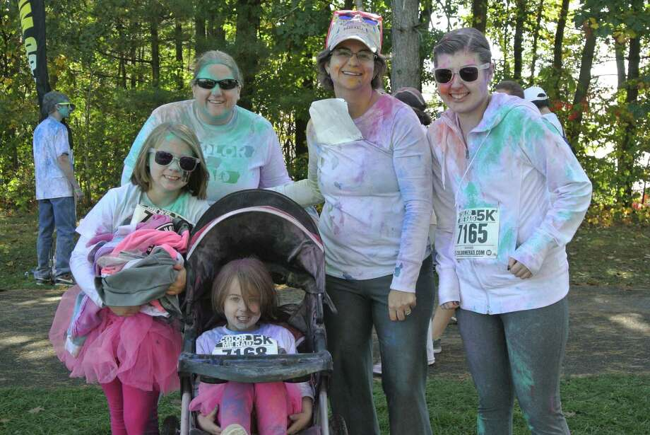 Were you Seen at the Color Me Rad 5K at the Saratoga Spa State Park in Saratoga Springs on Sunday, Oct. 5, 2014 Photo: Deanna Fox