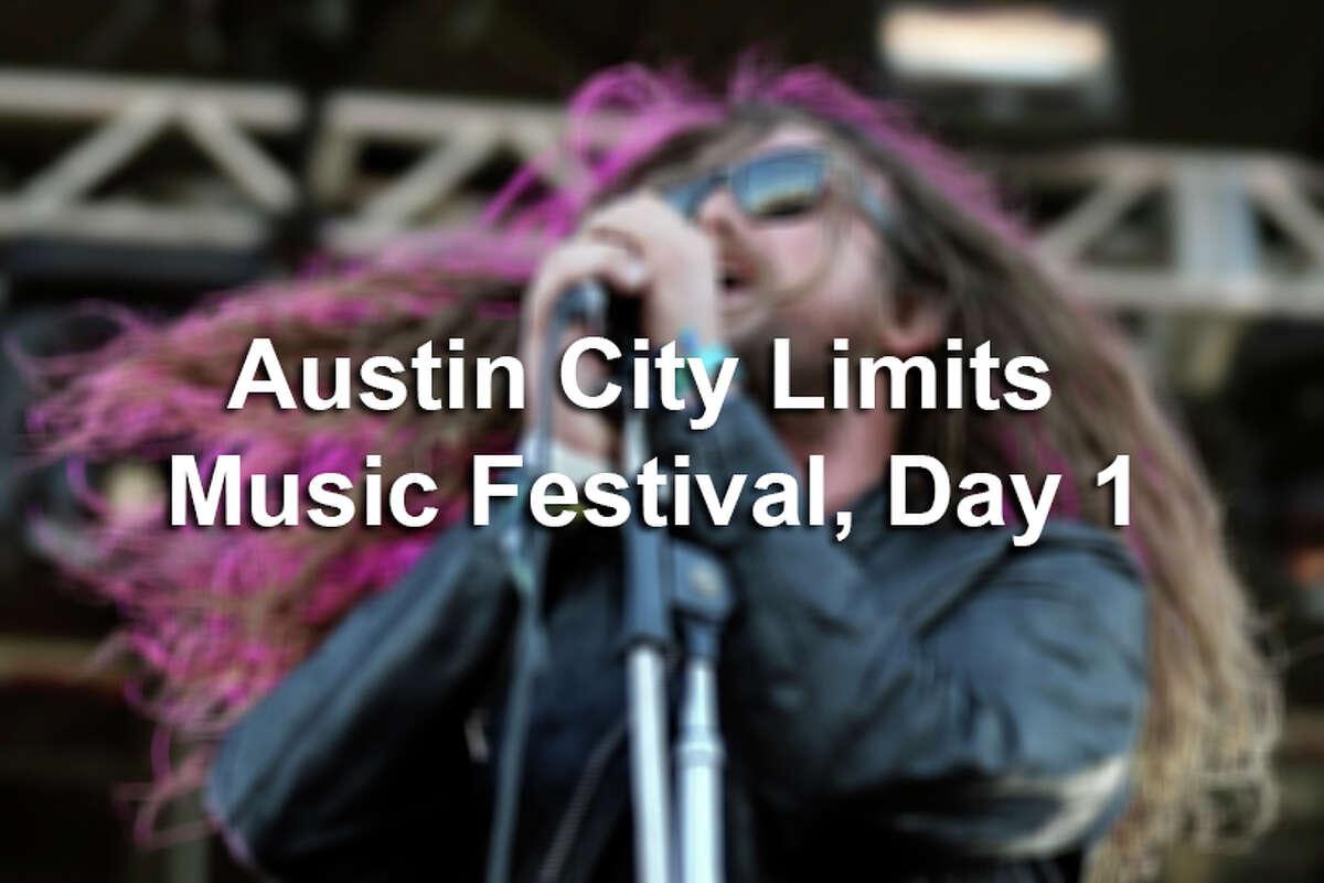 Austin City Limits Music Festival, Day 1