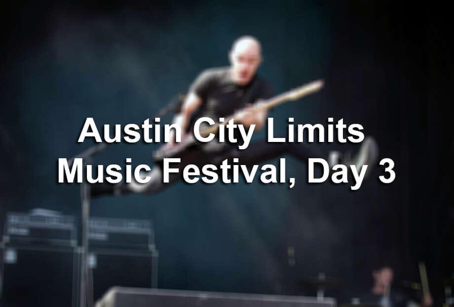 Austin City Limits Music Festival, Day 3 Photo: Jay Janner, AP Photo / Austin American-Statesman