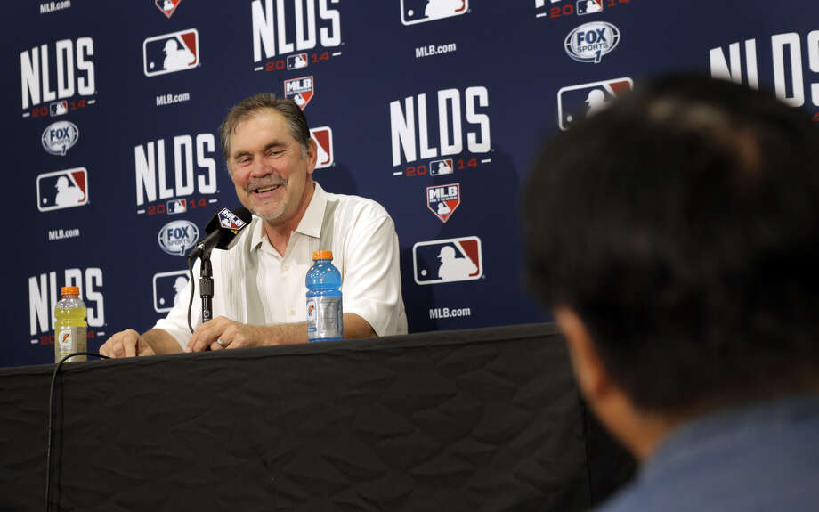 Bruce Bochy has won two World Series titles and has fashioned a 26-10 postseason record with the Giants. Photo: Carlos Avila Gonzalez / The Chronicle / ONLINE_YES