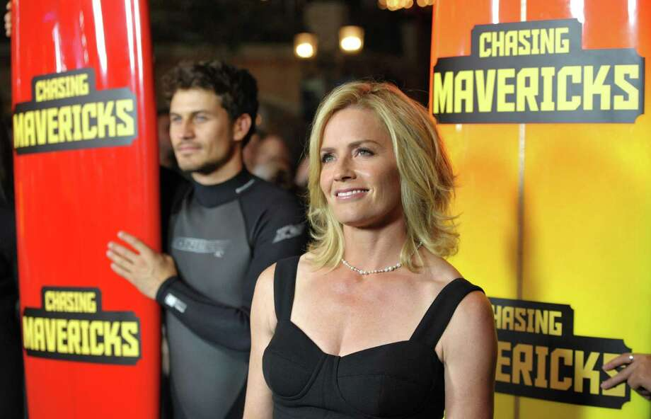 """Actress Elisabeth Shue attends the """"Chasing Mavericks"""" Los Angeles Premiere in Los Angeles on Thursday Oct. 18, 2012.  (Photo by John Shearer/Invision/AP) Photo: John Shearer / Invision"""