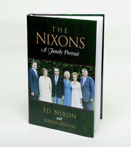 """The Nixons:A Family Portrait,""by Ed Nixon, brother of President Richard Nixon, co-written Karen Olson. (Will Waldron/Times Union) Photo: WW"