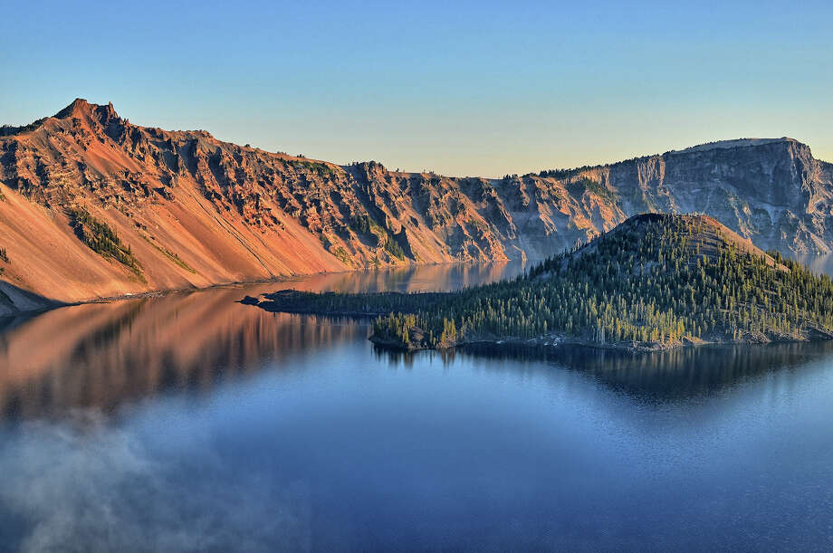 Often overlooked, Crater Lake is a jewel of the National Park System. Photo: PHOTO: MIKE MOFFITT/SFGATE