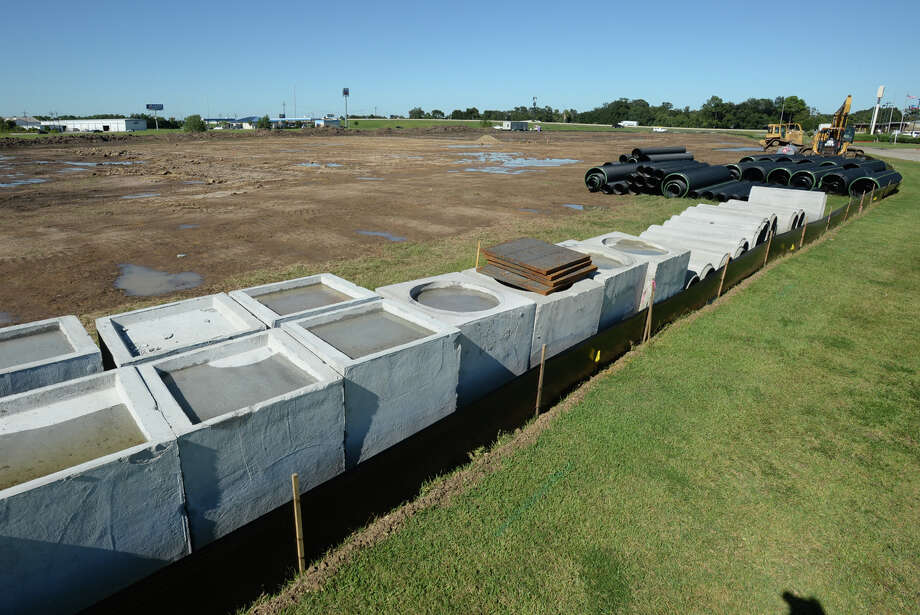 Construction for a new Toyota Scion center is underway on U.S. 69 near the airport.   Photo taken Friday, September 03, 2014  Guiseppe Barranco/@spotnewsshooter Photo: Guiseppe Barranco, Photo Editor
