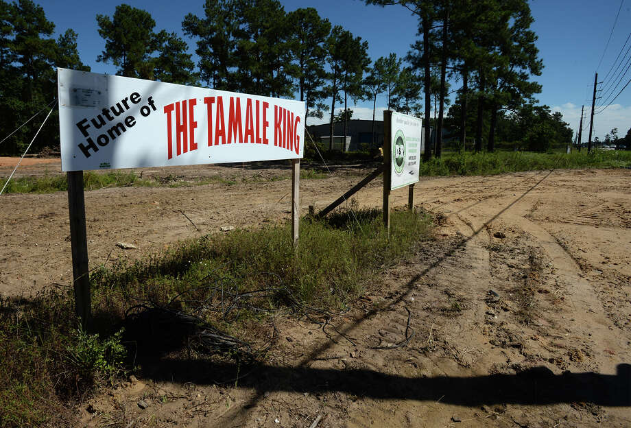Construction for a new Tamale King is underway on Texas 69 near West Walton Road in Lumberton.  Photo taken Friday, September 03, 2014  Guiseppe Barranco/@spotnewsshooter Photo: Guiseppe Barranco, Photo Editor