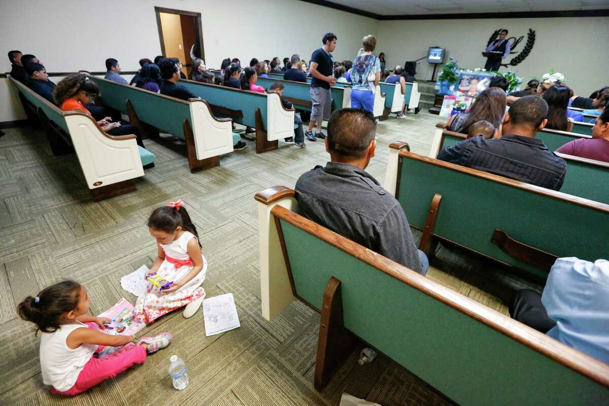 Friends and family gathered recently to honor Jose Meraz  in Houston at his funeral service. The teenager was discovered slashed to death Sept. 15 in the woods near Addicks Reservoir. Friends and family gathered recently to honor Jose Meraz  in Houston at his funeral service. The teenager was discovered slashed to death Sept. 15 in the woods near Addicks Reservoir.