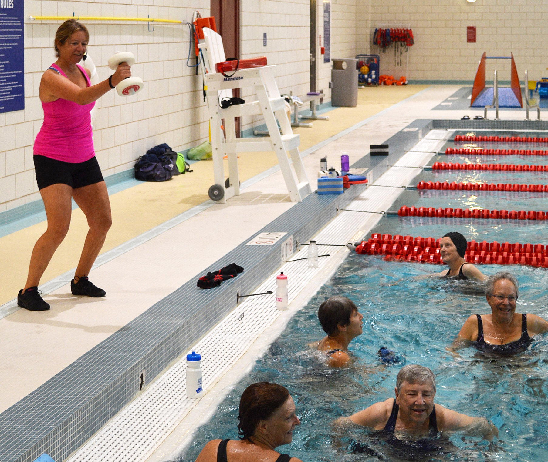 Westport Y Opens With A Splash ... And Lots More