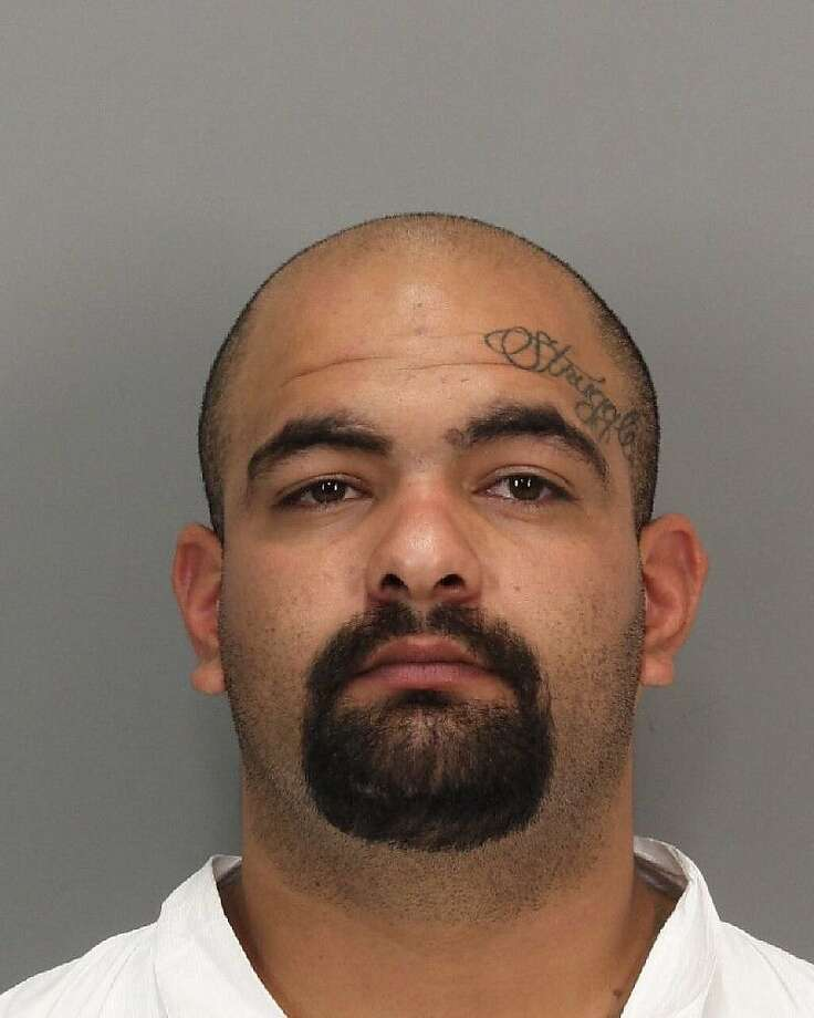 Amador Rebollero was arrested for felony assault after a beating at Levi's Stadium was caught on video.